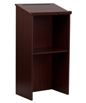Lectern with Adjustable Shelf and Pen/Pencil Tray 661-01