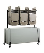 Chair & Table Combo Cart 690-01