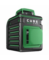 AdirPro Cube Green 2-360 Degree Horizontal & Vertical Cross Line Laser 790-42
