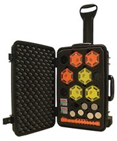 Aervoe Patented LED Traffic Control Kit 1149