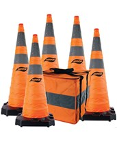 Aervoe Heavy-Duty Collapsible Safety Cone 1186