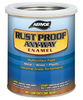 Rust Proof Any-Way Enamel Paint (4-Pack) 309Q