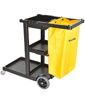 Janitorial Cleaning Cart with 3 Shelves 463
