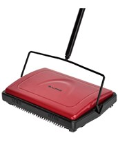 Triple Brush Floor and Carpet Sweeper 469-RED