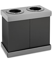 Alpine 28-Gallon Recycling Indoor Waste Bin 471-02-BLK