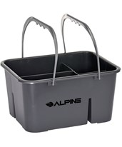 4-Compartment Plastic Cleaning Caddy 486-4