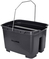 Divided Plastic Cleaning Bucket 486-D