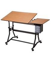 CraftMaster III Split-top Drafting Table CM60-3-WBR