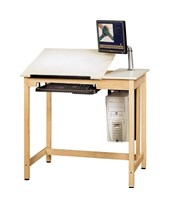 Shain Deluxe Drawing Table System CDTC-70