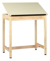 Shain One-Piece Drawing Table DT-9A30