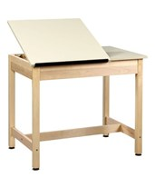 Shain Two-Piece Drawing Table DT-9SA30