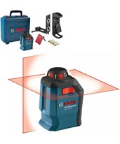 Self-leveling 65' Cross-Line Laser with 360° Horizontal Plane GLL 2-20