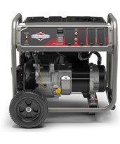Briggs & Stratton Portable Generator w/ PowerBuilt Engine & Hour Meter 30713