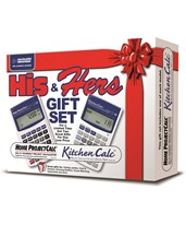 Calculated Industries His and Hers Calculator Gift Set 8300-8510