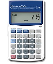 Calculated Industries KitchenCalc Calculator 8300