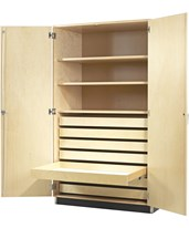 Woodcrafts Chart and Paper Storage Cabinet 354-4830