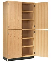 Solid 4-Door Tall Cabinet 356-3622K