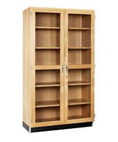 Glass Double Doors Cabinet 358-3622K