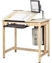 Woodcrafts Deluxe Drawing Table System CDTC-70