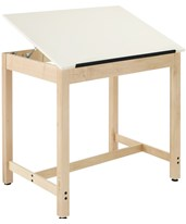 Woodcrafts Full Top Drawing Table System DT-30A