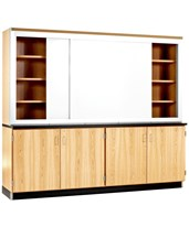 Woodcrafts Knowledge Plus Wall Cabinet LW-8K