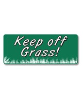 EverMark Keep Off Grass Property Sign GHM-604-01