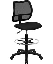 Mesh Drafting Chair WL-A277-BK-D-GG