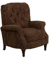 Traditional Tobacco Fabric Tufted Hi-Leg Recliner AM-2650-6370-GG