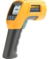 572-2 High-Temperature Dual Laser Infrared Thermometer 4328074