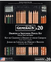 General's Classic Sketching & Drawing Kit G20
