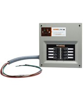 HomeLink Upgradeable Pre-wired Manual Transfer Switch 6852