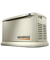 Generac 20/17kW Air-Cooled Standby Generator 7077