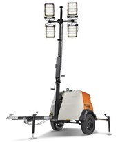 Generac MLT6SMD LED Mobile Light Tower w/ Electric Winch MLT6SMD-STD2