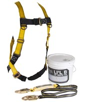 Little Bucket of Safe-Tie Safety Kit 00870