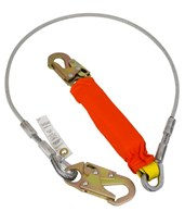 Coated Cable w/ Flame Resistant Cover Lanyard 01245