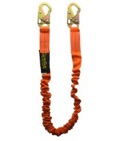 Bungee Style Shock Absorbing Stretch Lanyard 01295