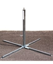 "Guardian Fall Protection 39"" Goose Warning Line Stanchion 15227"