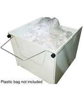 Waste Receptacle w/ Wheels for 16.50 Series Shredder 71399