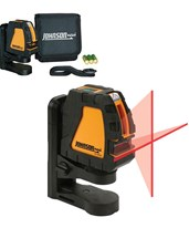 Johnson Self-Leveling Cross Line Laser w/ Elevating Magnetic Bracket 40-6650
