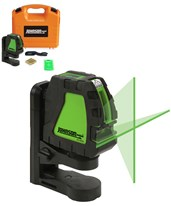 Johnson Self-Leveling Cross-Line Laser with GreenBrite Technology 40-6657