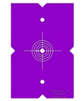 LaserLine Quad 1000 Target Template (2/Pack) 4001-0010