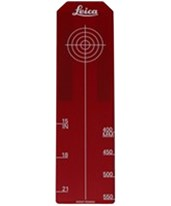 Large Red Laser Target Insert for Piper Series Pipe Lasers 757608