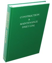 Construction & Maintenance Daily Log Book 505