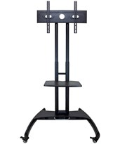 Adjustable Height LCD TV Stand with Mount and Shelf FP2500