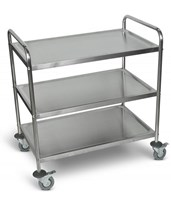 Large Stainless Steel Utility Cart ST-3
