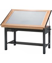 Mayline Ranger 4-Post Light Table 7734BLT