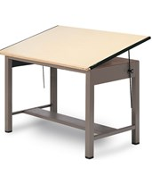 Ranger Steel 4-Post Drafting Table 7732