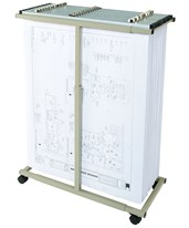 Mayline Expandable Mobile Plan Rack 9429