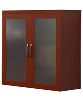 Aberdeen Series Glass Display Cabinet AGDCLCR
