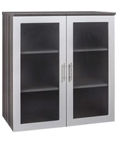 Medina Series Glass-Door Display Cabinet MGDCLGS